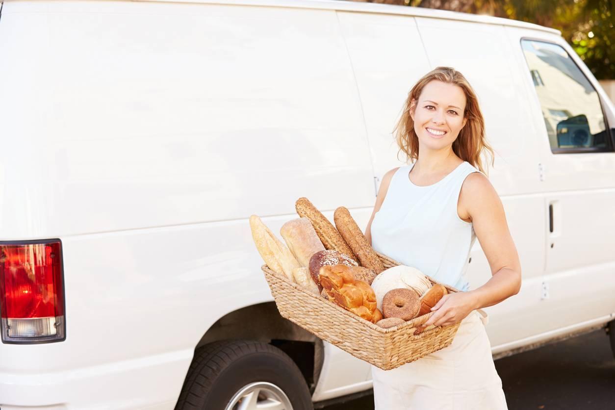 livraison boulangerie en utilitaire d'occasion